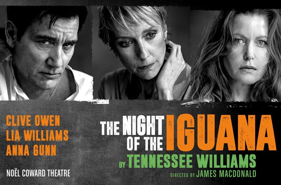 The Night Of The Iguana tickets Noel Coward Theatre London