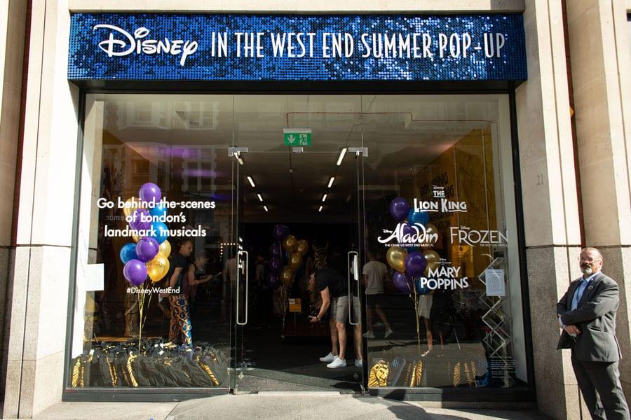 Disney West End Pop Up
