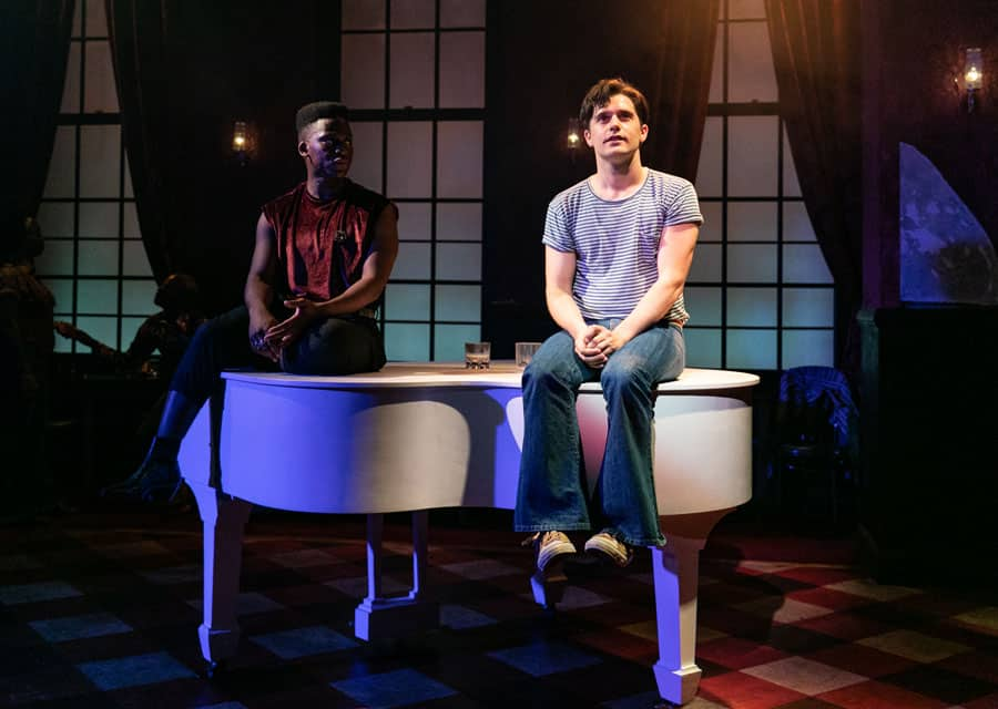 Andy Mientus Tyrone Huntley