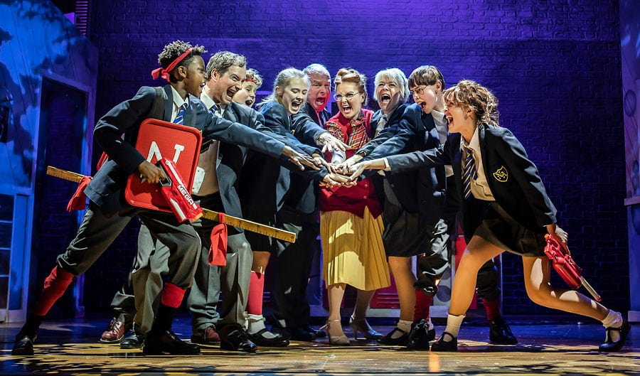 Secret Diary Of Adrian Mole the musical Ambassadors Theatre