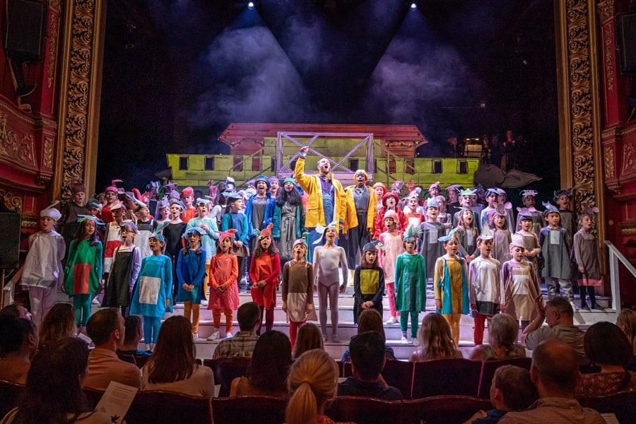 Noye's Fludde review Theatre Royal Stratford East