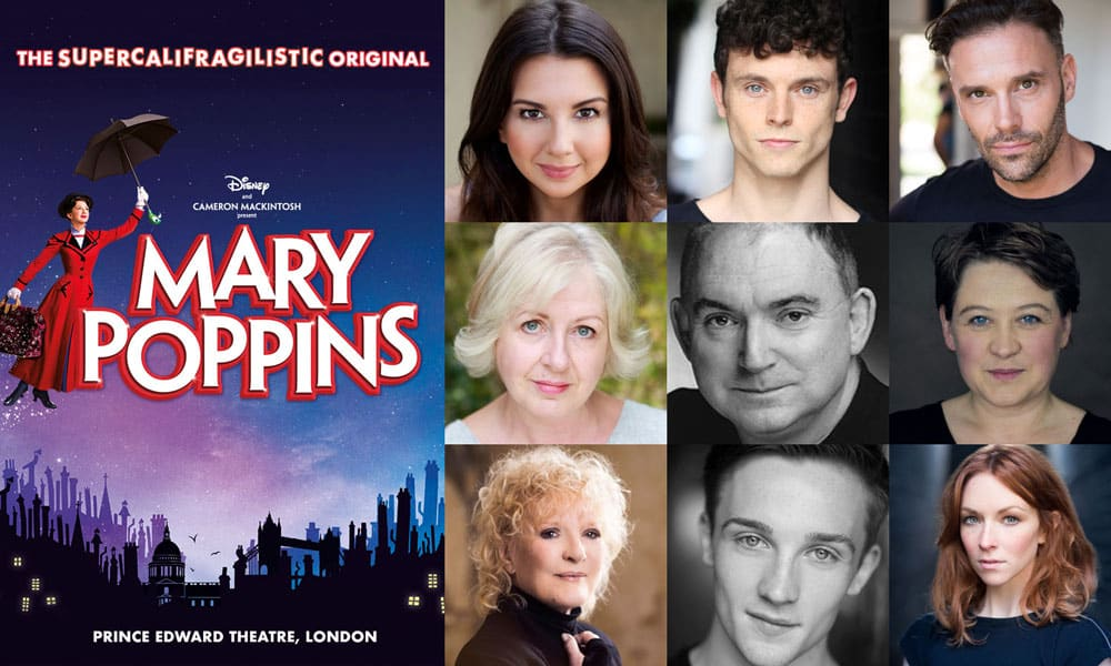 Mary Poppins West End cast