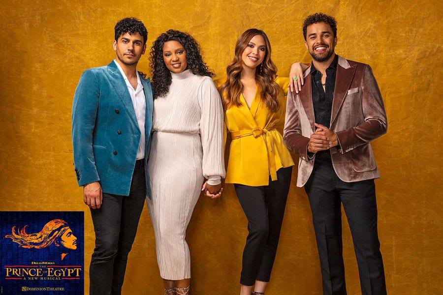 Prince Of Egypt cast Dominion Theatre
