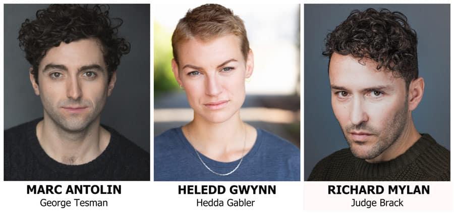 Hedda Gabler cast Sherman Theatre