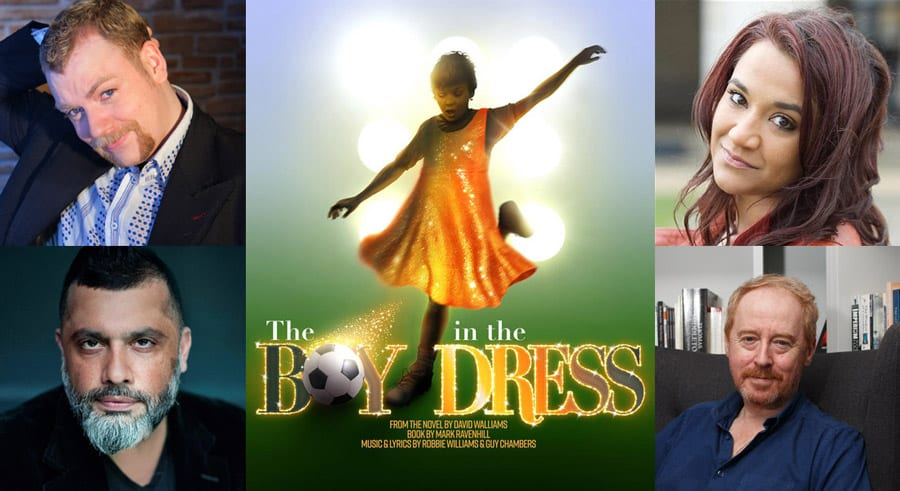 RSC The Boy In The Dress musical cast