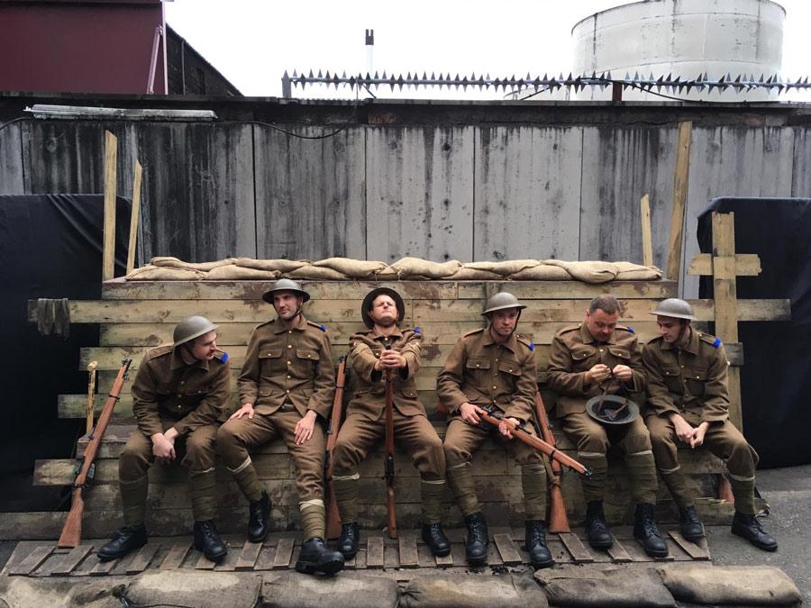 War Of Two Halves review Edinburgh Fringe