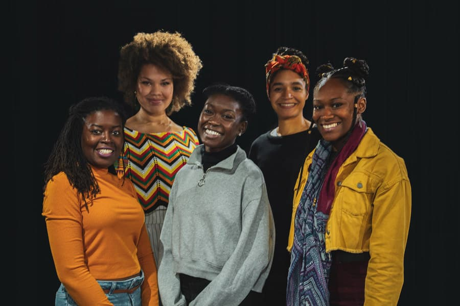 Soho Theatre Shuck 'n' Jive cast