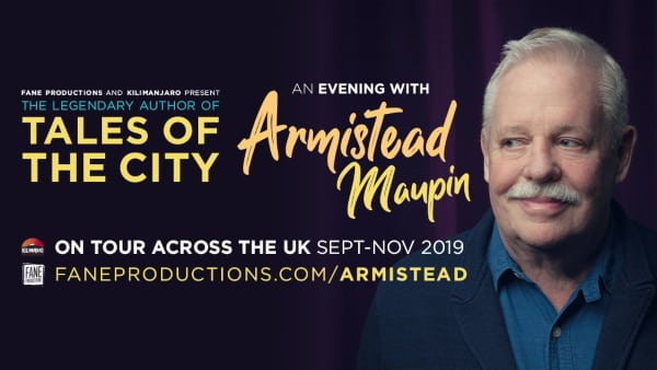 Armistead Maupin UK Tour
