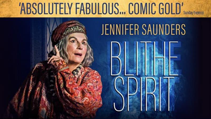 Jennifer Saunders Blithe Spirit UK Tour West End