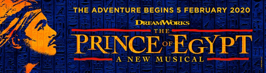 Dreamworks Prince Of Egypt London tickets Dominion Theatre