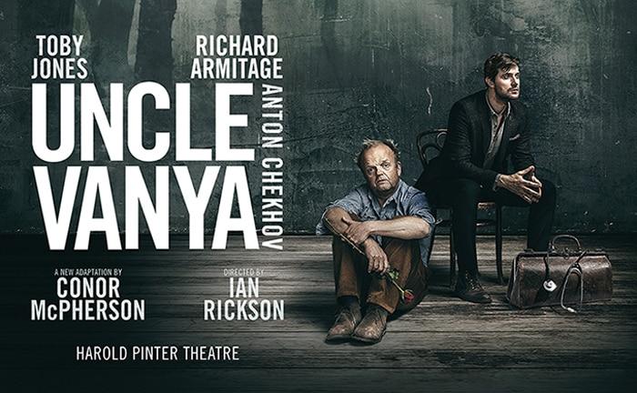 Uncle Vanya tickets Harold Pinter Theatre