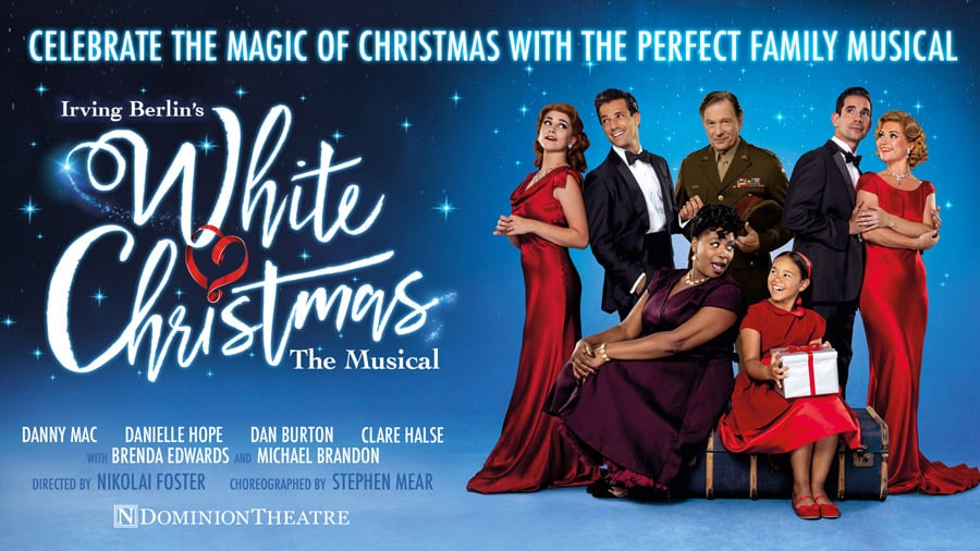 White Christmas tickets Dominion Theatre London