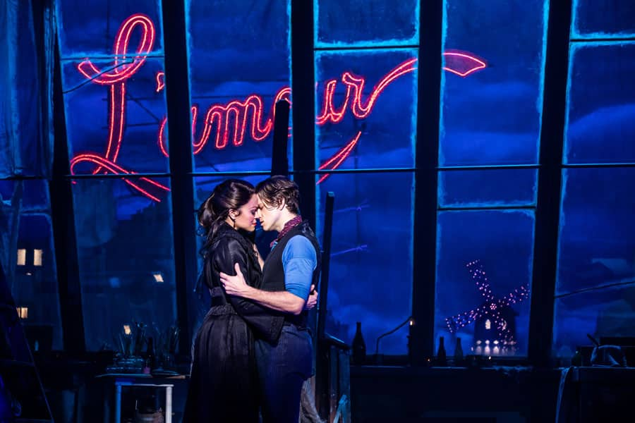 Moulin Rouge musical tickets Broadway