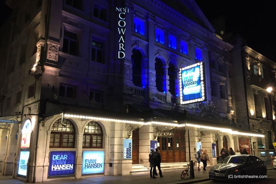 Dear Evan Hansen Noel Coward Theatre London