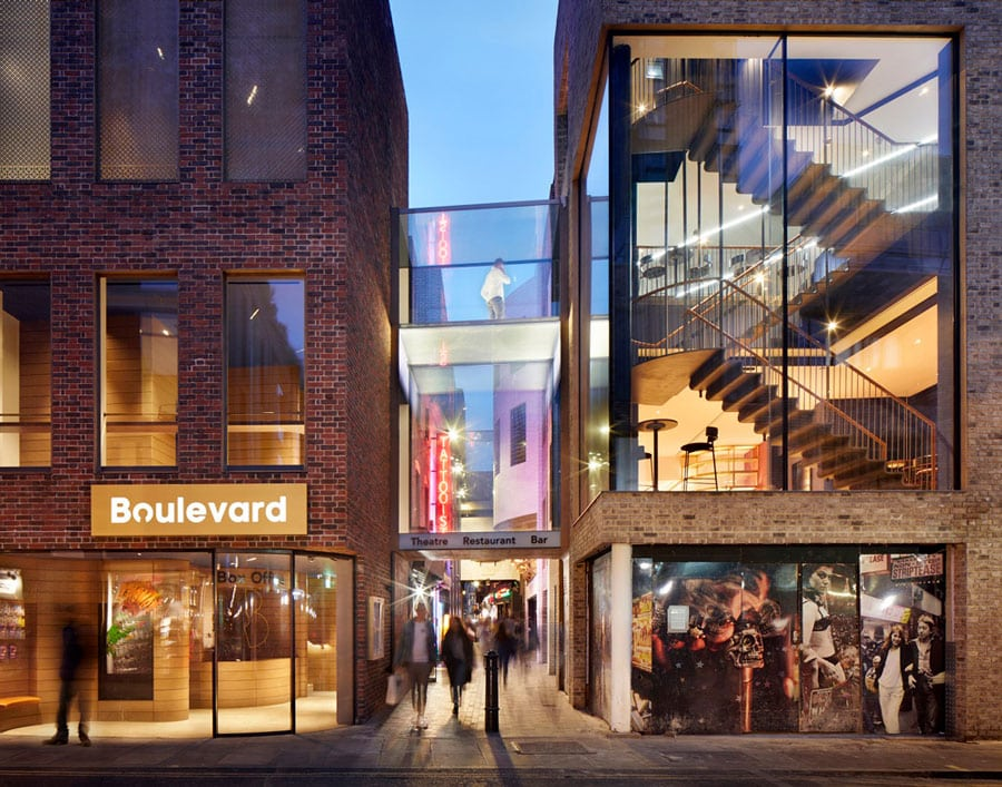Bou;evard Theatre London exterior