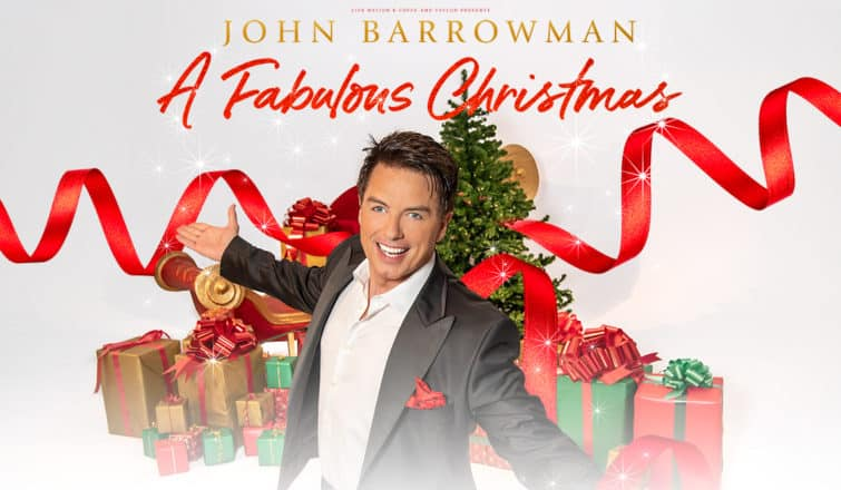 John Barrowman Fabulous Christmas UK Tour