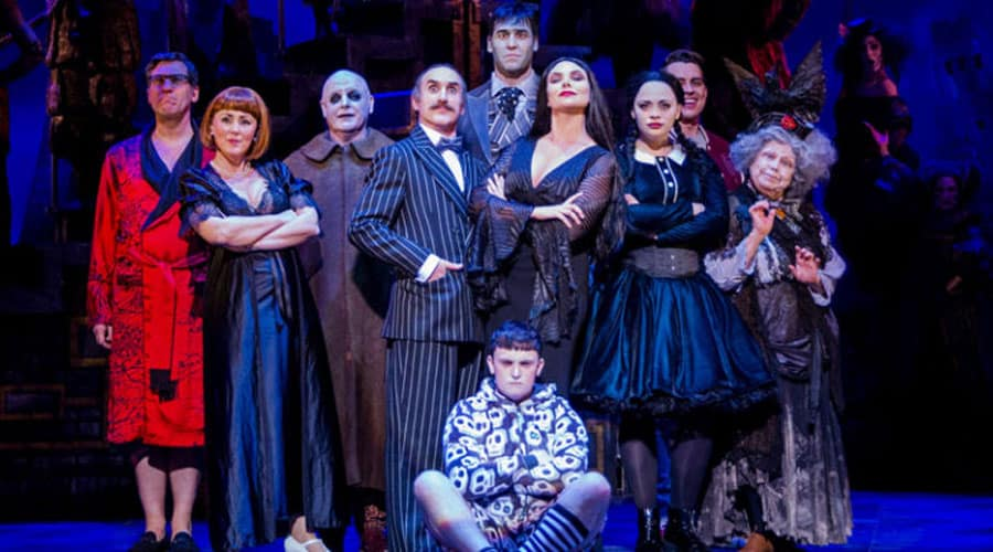 The Addams Family UK Tour tickets