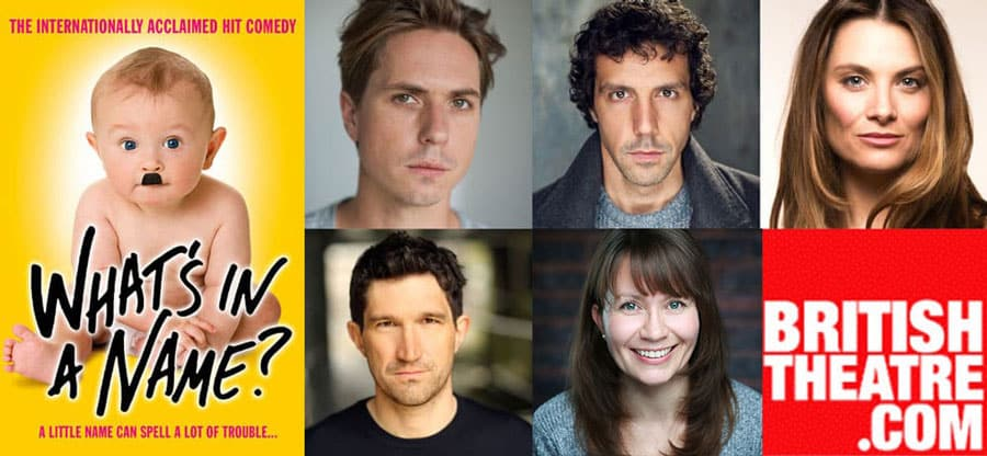 What's In A Name? Uk Tour Cast 2020