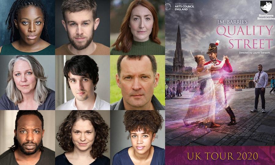 Quality Street UK Tour cast