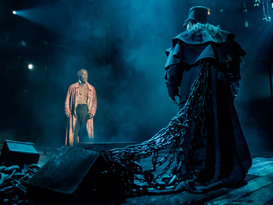 A Christmas Carol continues to haunt Britain's stages