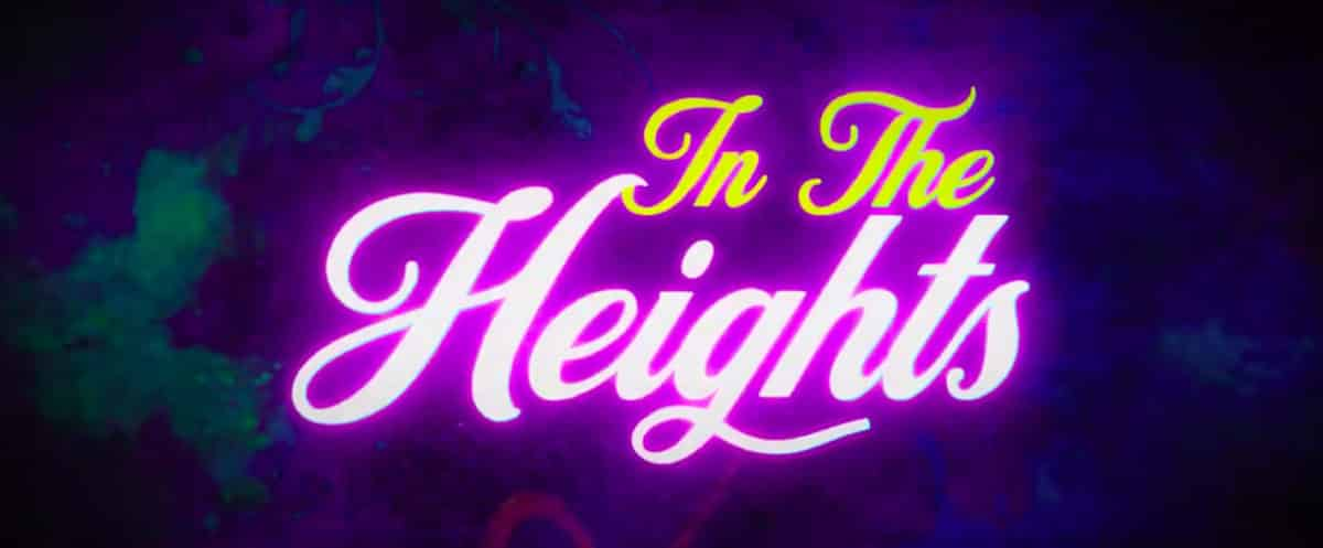 In The Heights Movie Trailer