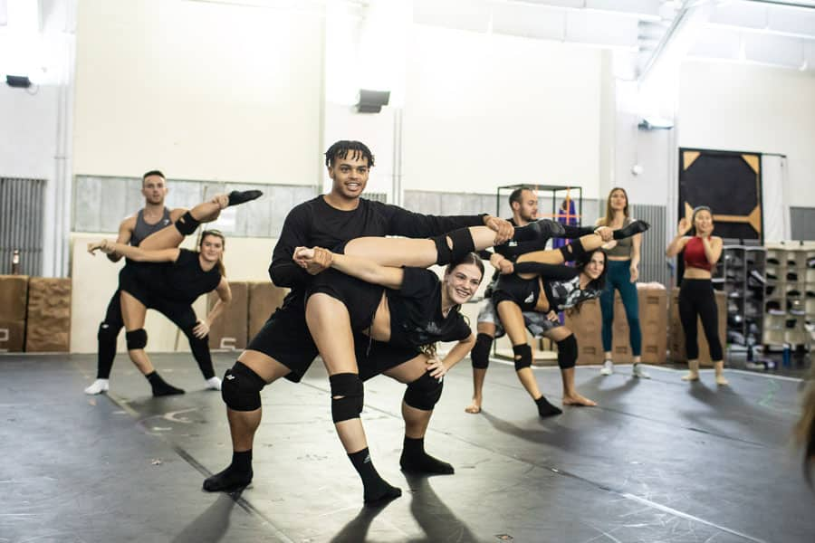 Prince Of Egypt musical rehearsals