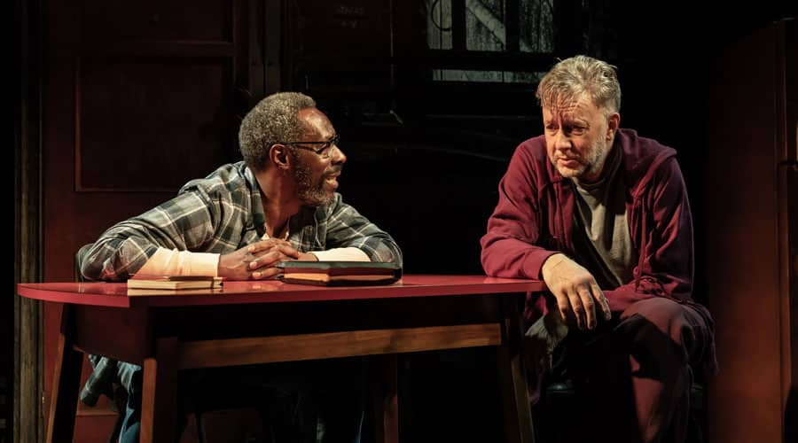 Sunset Limited review Boulevard Theatre London