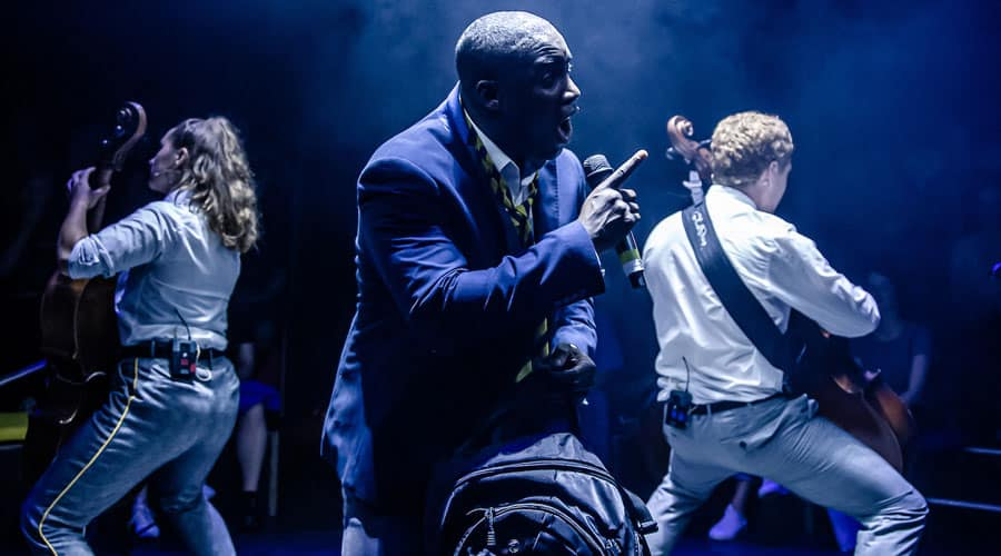 The Canary and the Crow review Arcola Theatre