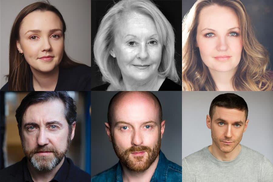 On McQuillan's Hill cast Finborough Theatre