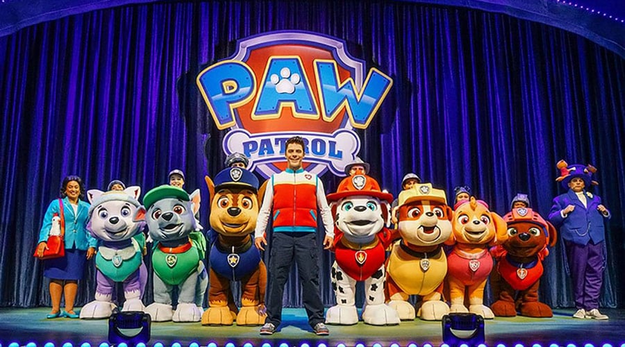 Paw Patrol Live Race To The Rescue Uk Tour 2020