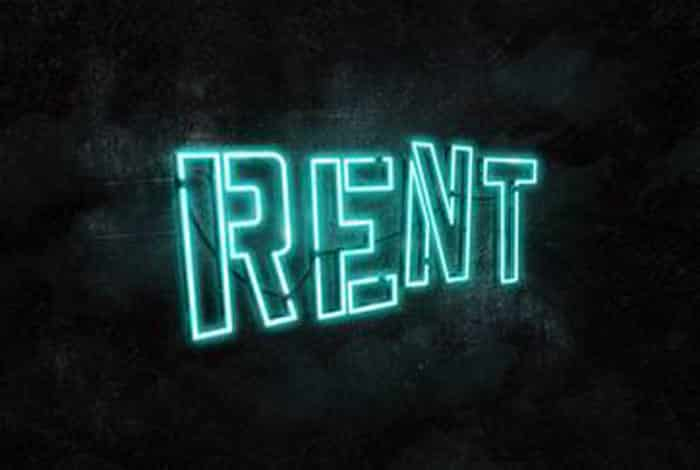 Rent Musical Hope Mill Theatre Manchester