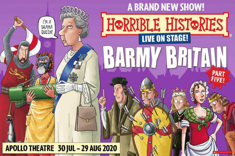 Horrible Histories Barmy Britain tickets