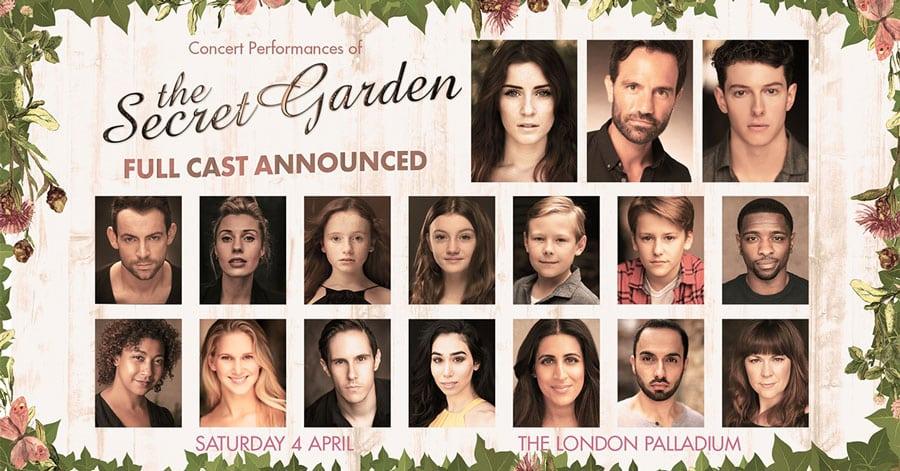 Secret Garden concert cast London Palladium