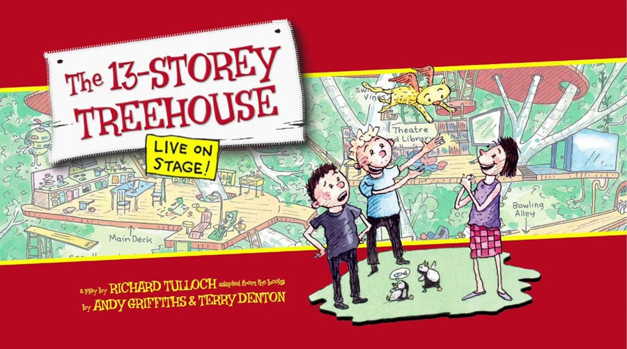 The 13 Storey Treehouse Tour Live