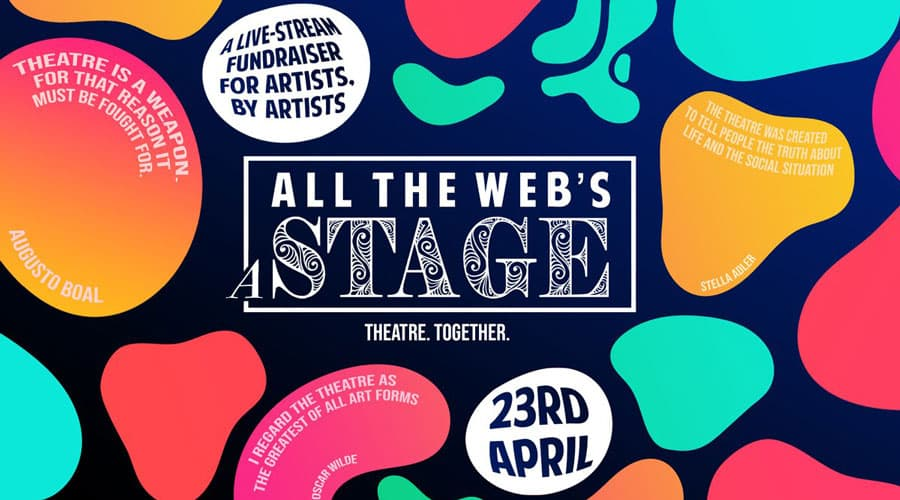 All the web's a stage