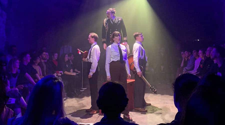 Brief Life and Mysterious Death Of Bris III review Vault Festival