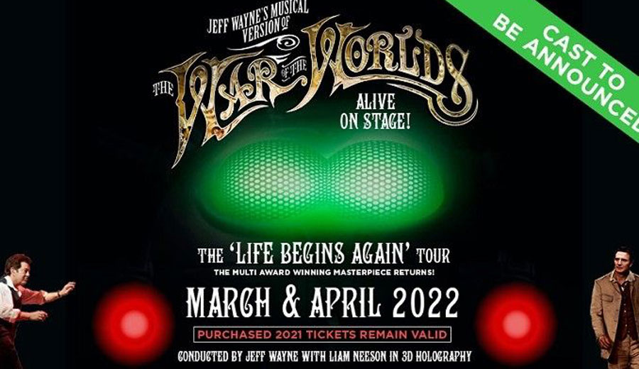 War Of The Worlds UK Tour 2022