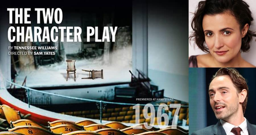 The Two Character Play Hampstead TheatreLondon
