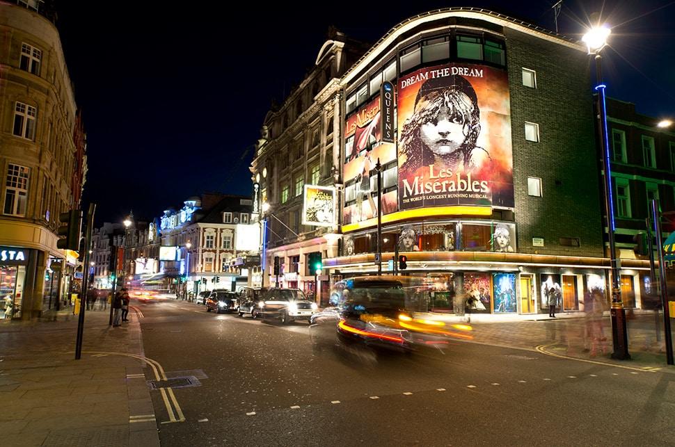 London theatre closures due to Coronavirus