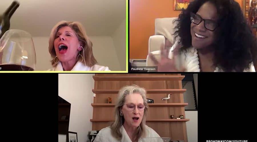 Christine Baranski, Audra McDonald and Meryl Streep