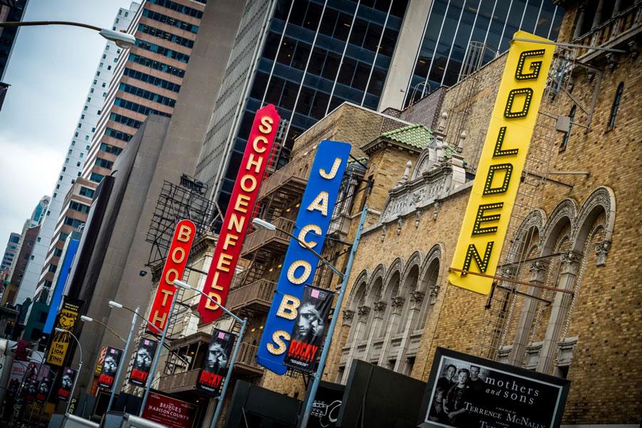 Broadway theatres closed 7 june