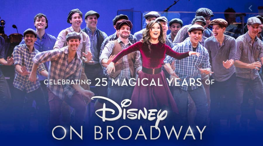 Disney on Broadway 25th Anniversary concert