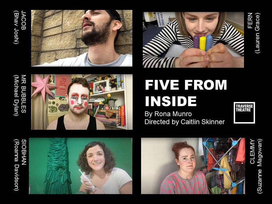 Five From Inside Traverse Theatre