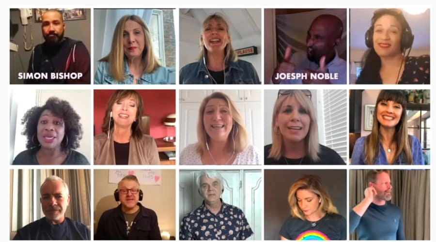 Mamma Mia original cast 21st anniversary