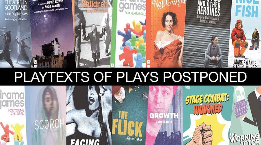 Playtexts plays postponed