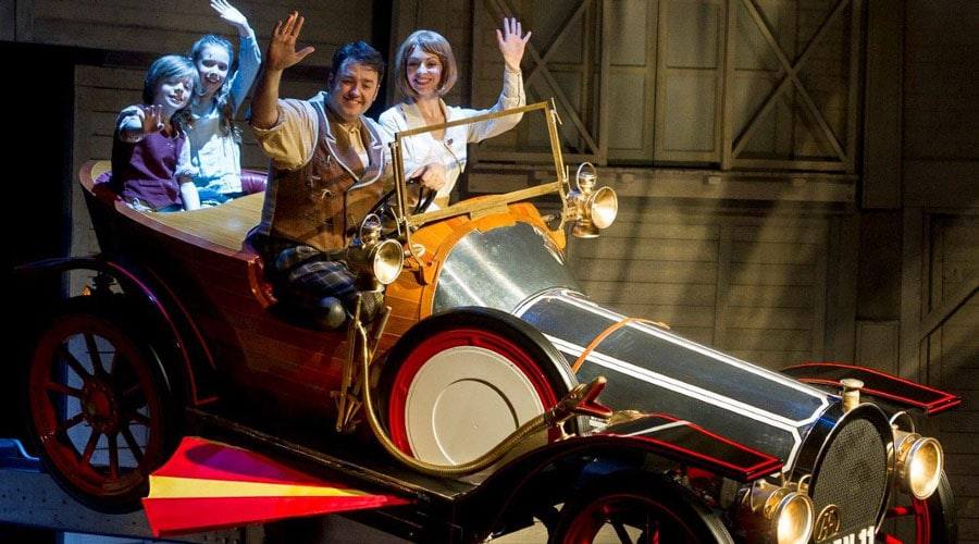 Chitty Chitty Bang Bang Tour car props auction