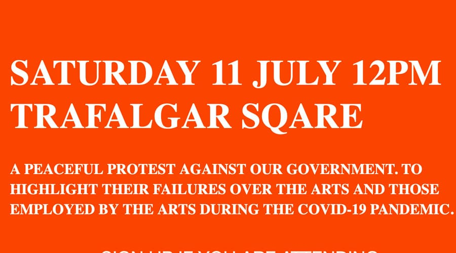 Can you hear the people sing protest march 11 july 2020