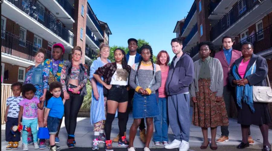 Chewing Gum TV cast