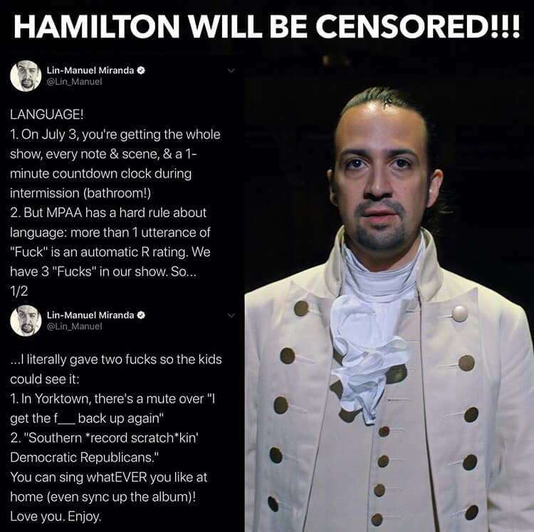 Hamilton Two Fucks