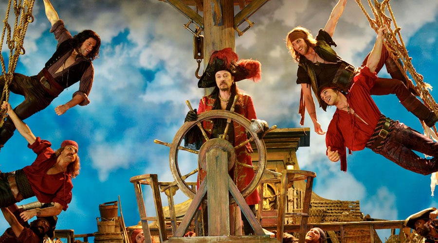 The Shows Must Go On Peter Pan Live